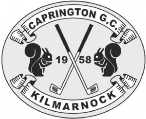 Caprington Public Golf Club, Kilmarnock, Scotland—Logo